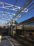 Edificio prefabricado galvanizado Houses845 de la estructura de acero