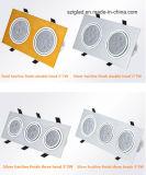 Haute qualité 3W/5 W/6W/7W/9W/10W/12W/14W/15W/18W/21W/24W/27W/36W Spot à LED à courant constant de la conduite de l'IC et ignifuge