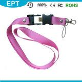 Moins cher lecteur Flash USB de corde de promotion, de la corde stick USB