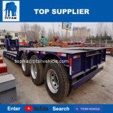 A Titan China Personalizar Lowboy Grande Capacidade 200 ton extensível de mesa baixa semi reboque