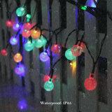 結婚披露宴のMulticolorfulの地上の壁太陽ストリングストリップの装飾LEDの球根の球のランタンランプライトISO9001