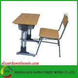 調節可能で熱い販売の教室の学校の机および椅子