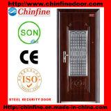 Porte en acier de garantie (CF-D001)