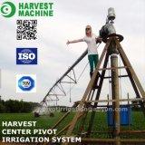 Impianto di irrigazione del perno del centro dell'azienda agricola di agricoltura