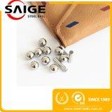 bola de acero inoxidable de 7/16inch AISI304/AISI302 G100 RoHS con el SGS