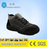 Mens безопасности сшивания скобками мода обувь работы стали с поддержкой TOE