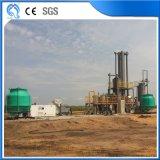 Электростанция газифицированием шелухи риса