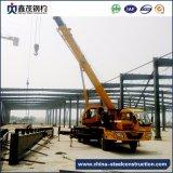 Casa de marco prefabricada movible de la estructura de acero para el edificio del almacén