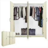 Vente en gros Modern MDF Bedroom Wardrobe Closet Furniture (HF-WC031)