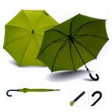 صنع وفقا لطلب الزّبون سيّارة مفتوح مطّاطة مقبض مظلة مستقيمة لأنّ هبة ترويجيّ