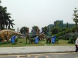 Dinosaur électrique de matériel des fournisseurs de la Chine