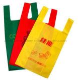 Saco liso não tecido do saco de Eco que faz a máquina Zxl-B700