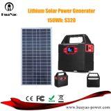 100W многофункциональный генератор солнечной системы с батарейным питанием солнечная панель