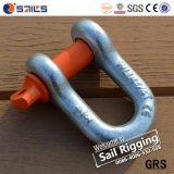 Wir Typ Stahl galvanisierte G210 Dee Fessel mit SchraubePin