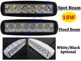 6inch 18W LED 플러드 빛 LED 안개등 LED 자동차 램프