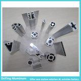 Profil en aluminium d'usine en aluminium de la Chine avec des formes de différence