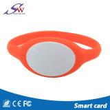 Bracelete resistente do silicone da água 13.56MHz Tk4100 NFC para o parque da água