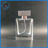 Bottiglia di profumo quadrata spessa personalizzata di prezzi di fabbrica con la protezione