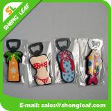 Fabrik fertigen billig weichen PVC-Gummiflaschen-Öffner kundenspezifisch an