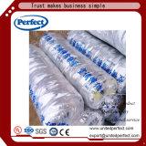 Canalisation flexible en aluminium d'air d'isolation de la CAHT avec les laines de verre de 25mm