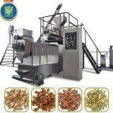 línea de la transformación de los alimentos de pescados del gato del perro de animal doméstico