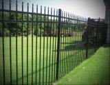 Загородка пикетчика Fence/3 ковки чугуна копья верхними гальванизированная Rials стальная