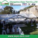 Fabbricato trasparente del PVC del tetto della tenda libera della festa nuziale decorato