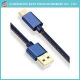Нейлоновые экранирующая оплетка Fast Charge 10Гбит/с USB 3.1 типа C кабель для MacBook Samsung Galaxy S8