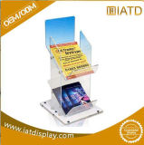 Affichage du compteur en acrylique de gros Brochure Stand Magazine