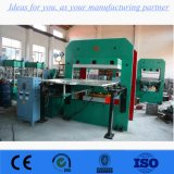 Preiswertes Gummidoppelgroßhandelsvorlagenglas-vulkanisierenpresse-Maschine