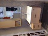 設計された木製のベニヤの食器棚を持つMDF