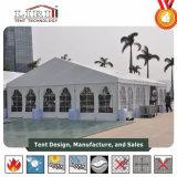 tenda della tenda foranea di 9X6m con la tela di canapa bianca del PVC per gli eventi esterni