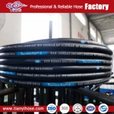 Une large application hydraulique flexible en caoutchouc