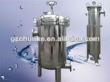 Boîtier multi de filtre à manches de l'eau d'acier inoxydable de capacité