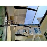 Pabellón/persianas del toldo del policarbonato vertidas para las puertas de Windows&