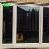 Doble ventana de aluminio con bisagras Lamiated de la vidriera