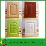 Высокое качество MDF кухня двери распределительного шкафа с ПВХ пленки