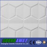 Efecto de tejido de revestimiento de paredes Panel decorativo