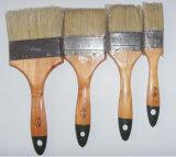 Alta qualità pura della setola 2pk della Cina della maniglia di legno dei pennelli