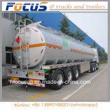 Remorque en aluminium de camion-citerne aspirateur des meilleurs compartiments de la qualité 45m3 3 de la Chine