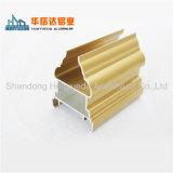 Aluminiumstrangpresßling-Profil-Fertigung-Goldelektrophorese-Aluminiumprofil für Gebäude