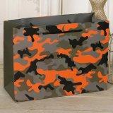 カスタム方法かカムフラージュまたはヒョウによって印刷されるペーパー包装袋はまたはショッピング・バッグをカスタム設計する