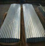 La hoja galvanizada mercado del material para techos del hierro de China/acanaló la hoja de acero