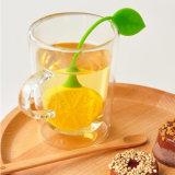 レモン整形シリコーンの穴があいた茶フィルターInfuser