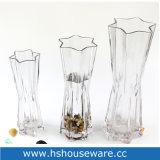 Vasi di vetro della radura di stile della stella