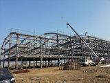 Oficina de aço galvanizada do espaço da grande extensão frame de aço