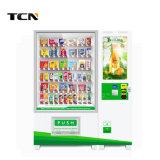 Distributore automatico della bevanda con il sistema di elemento portante dell'elevatore