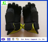 柔らかい裏地のカスタムアイスホッケーの手袋