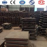 Fodera resistente all'uso di alta qualità per il laminatoio di sfera del cemento