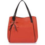 نساء أماميّة [بو] زخرفة حقيبة يد نمو جلد محفظة حقائب